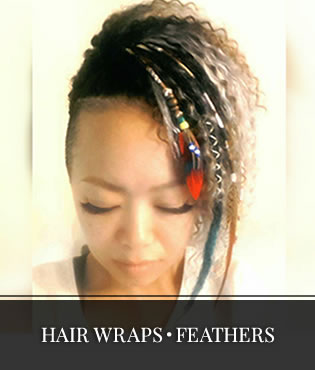 HAIR WRAPS・FEATHERS
